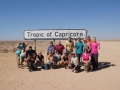 Happy Travelers Circle of Capricorn