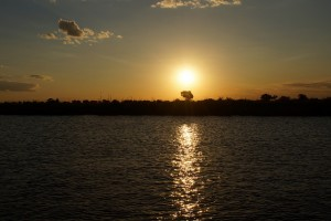 Chobe River Sunset