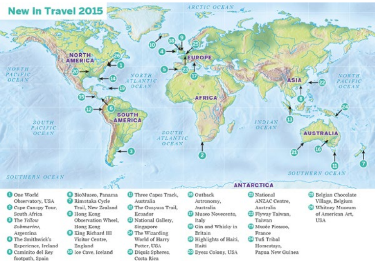 LP New in Travel 2015