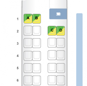 PAL Eco Q400 layout