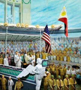 Diorama Philippine ndependence