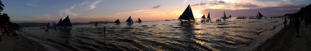 Boracay Beach PanNight2