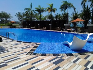 Hyatt KK Pool