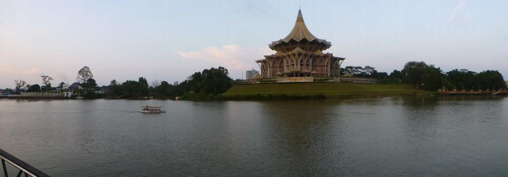 Kuching River Panorama