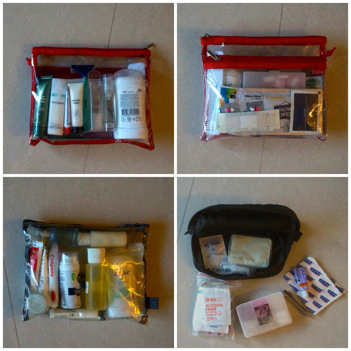 PackLight Toiletries