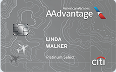 Citibank AAdvantage Platinum