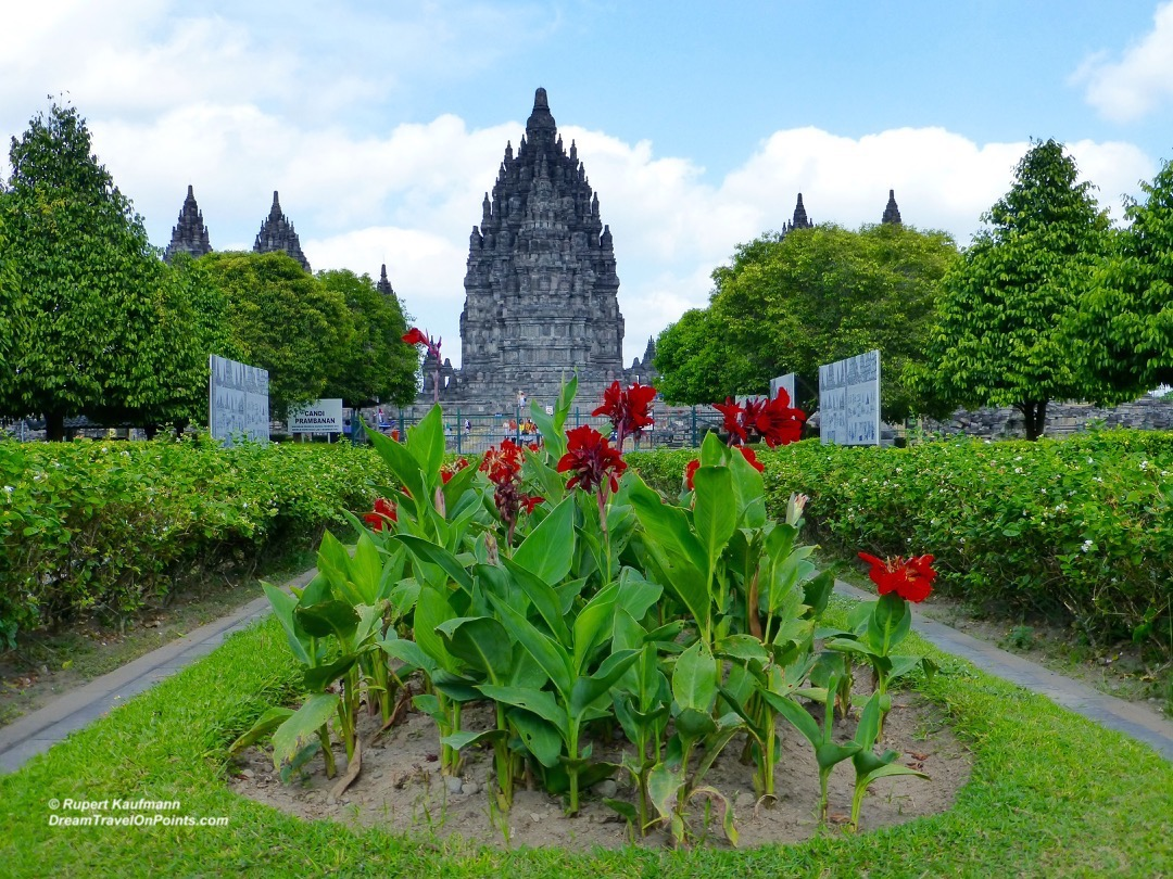 YOG Prambanan tower far
