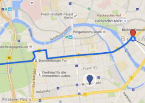 BER Hilton Map