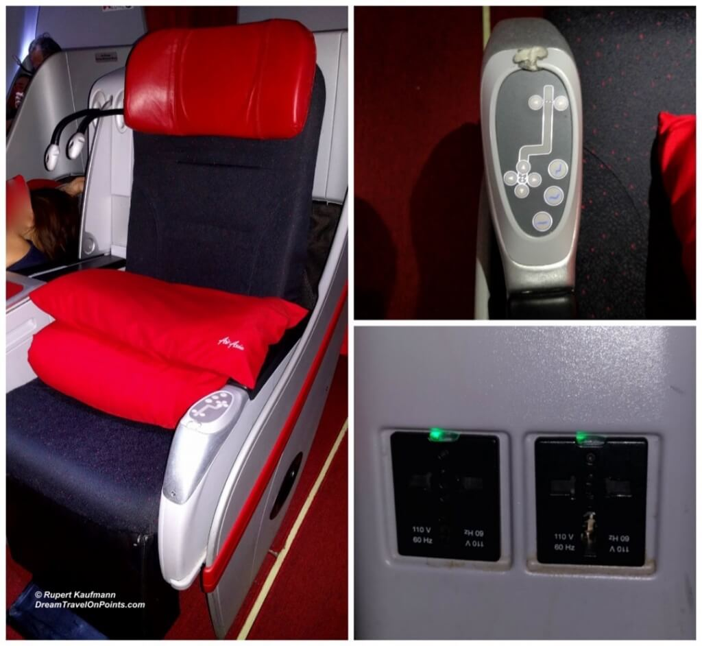 AirAsia Business Seat c