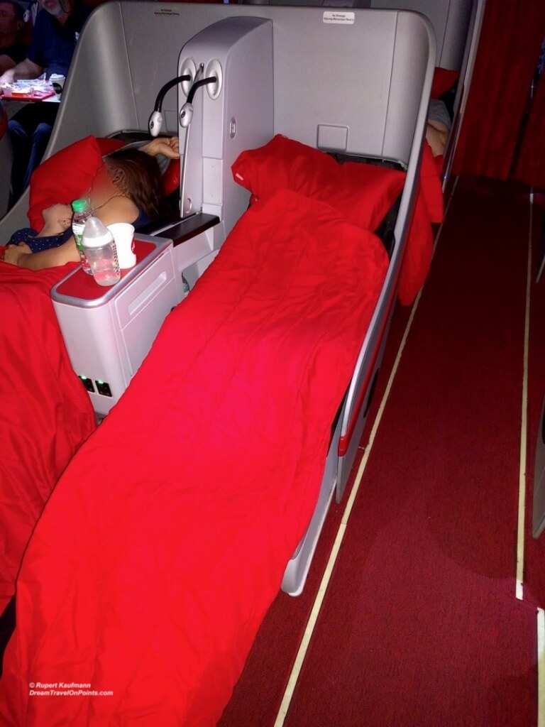 AirAsia Business SeatSleep