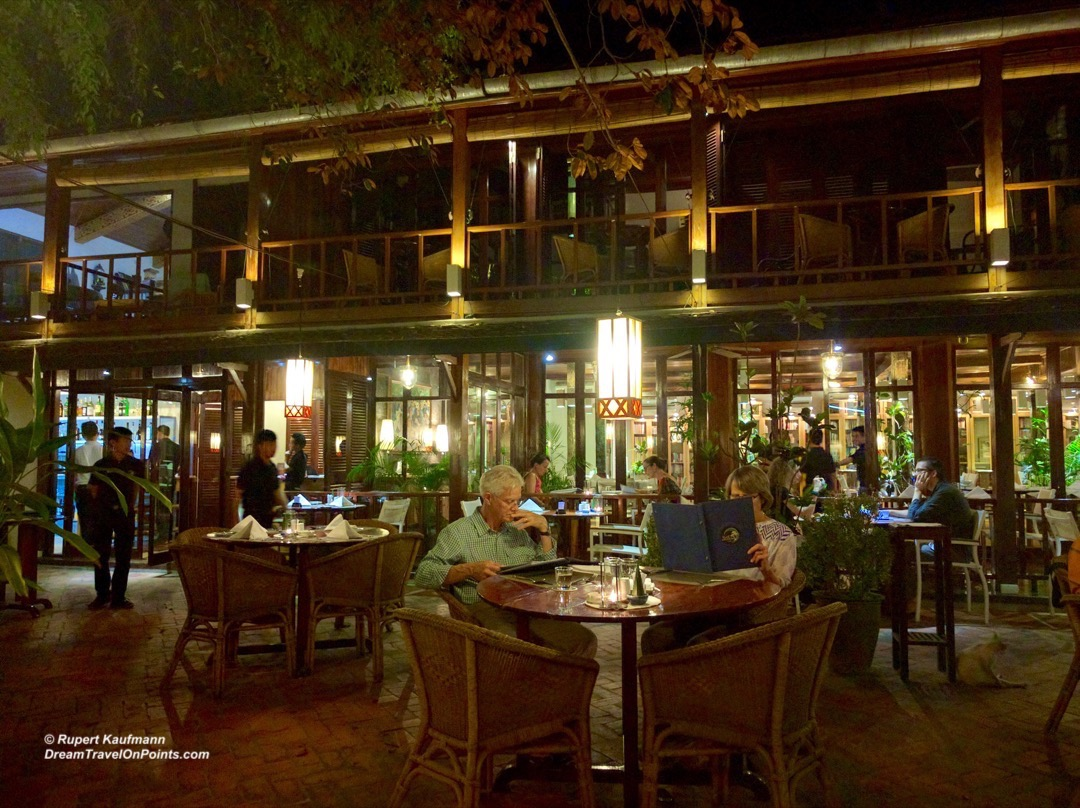 Upscale European Dining In Luang Prabang Laos Blue