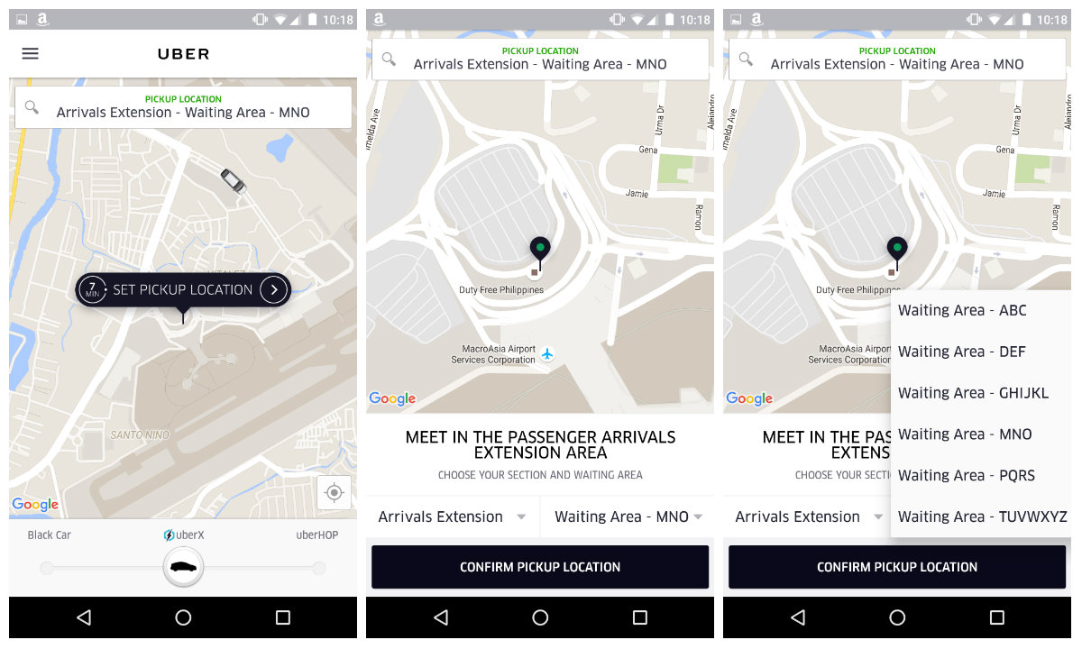 How to use uber at Manila's NAIA Airport   DreamTravelOnPoints