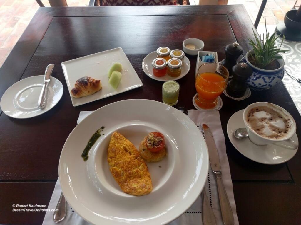 LAO Sofitel LPB Breakfast
