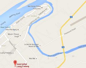 LAO Sofitel LPB Map