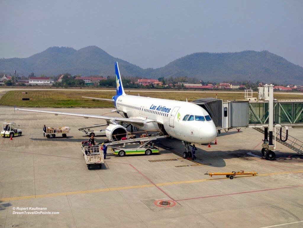 LaoAir A320Gate