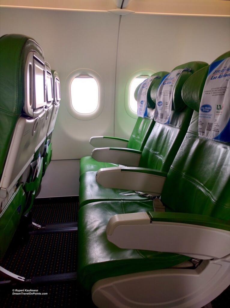 LaoAir A320Interior2
