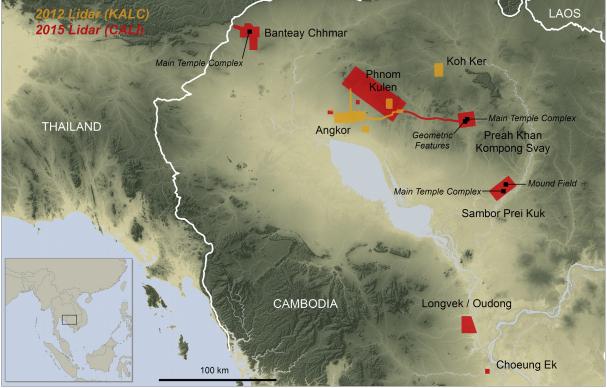 AngkorWat Cities Damian Evans Map1
