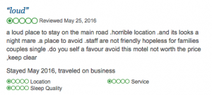 TripAdvisor Review 2