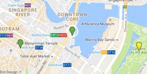 SIN FullertonBay Map