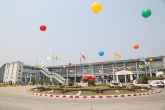 opening celebration at new Yangon international terminal