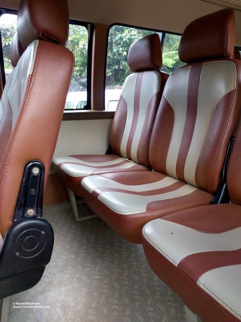 Toyota Minibus Interior