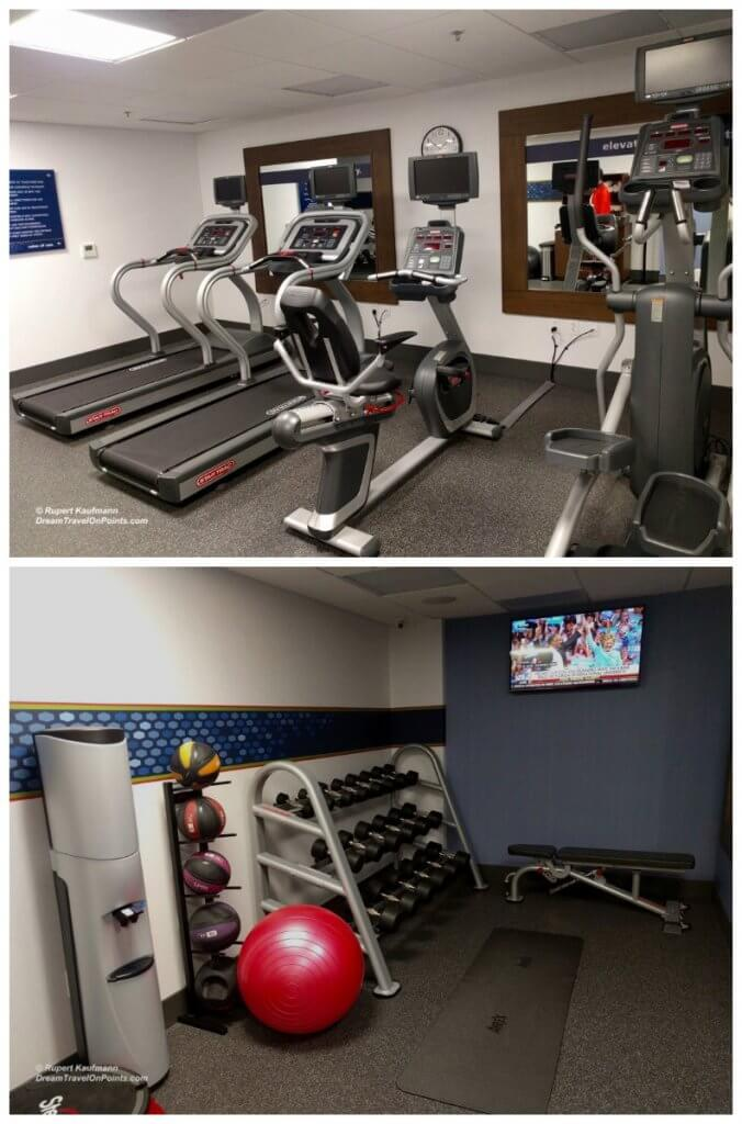 SFO HamptonInn Gym c