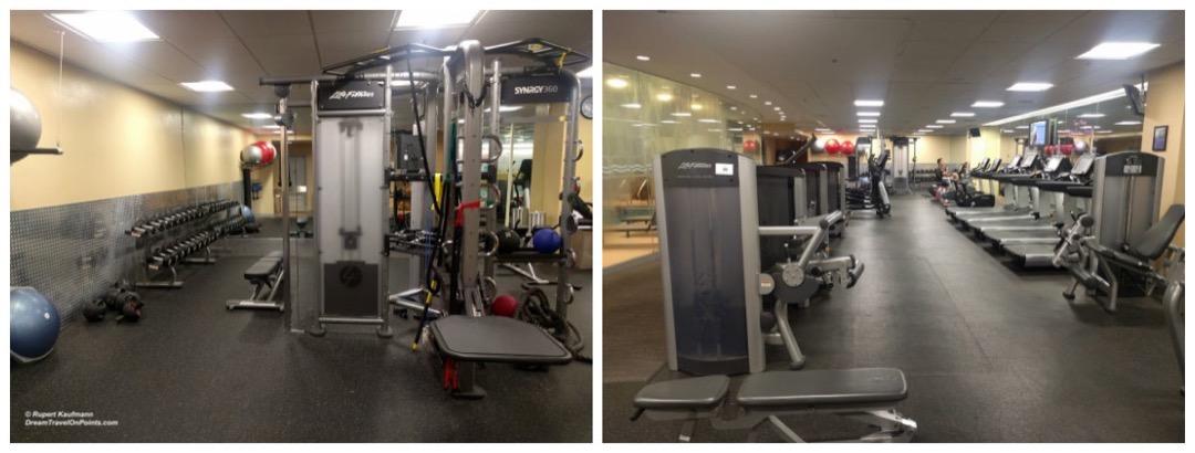 BOS Hyatt Regency Boston gym c