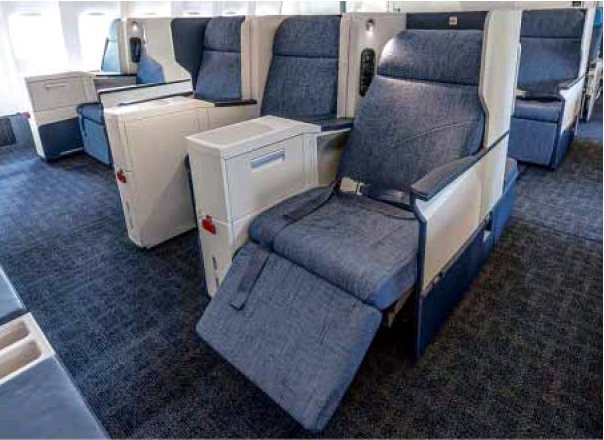 New PAL B777 Business Class, courtesy of PAL