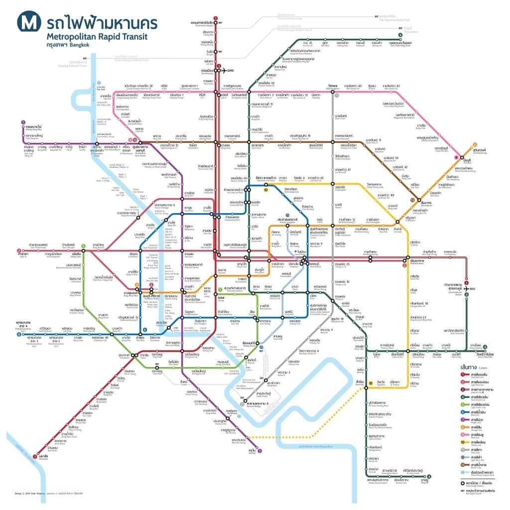 Bangkok Metro Trains