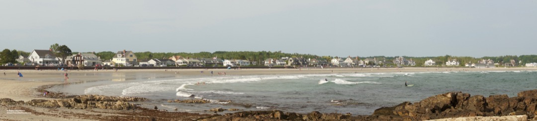Maine Kennebunkport Beach p