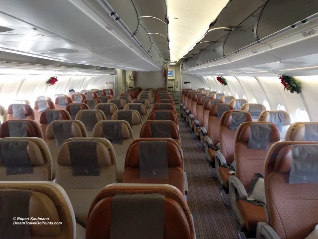 SQ Eco A330 Cabin