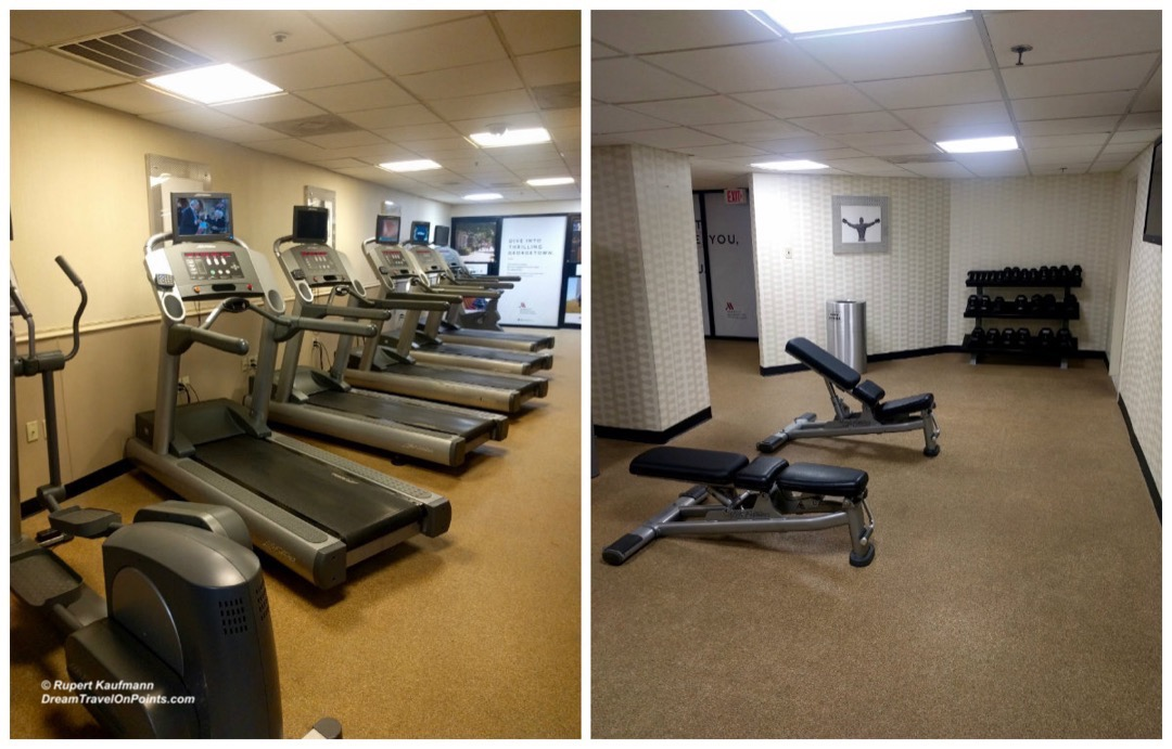 WDC Marriott Georgetown gym c