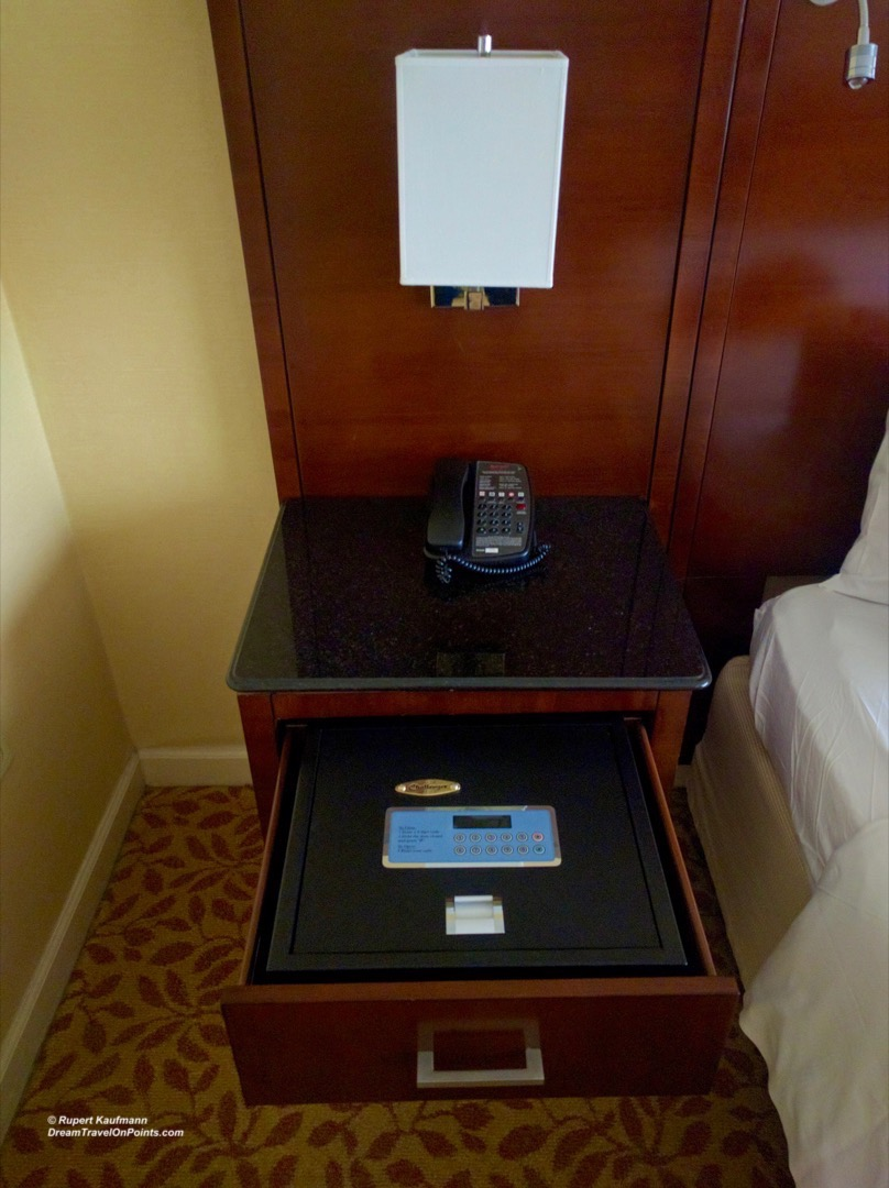 WDC Marriott Georgetown safe