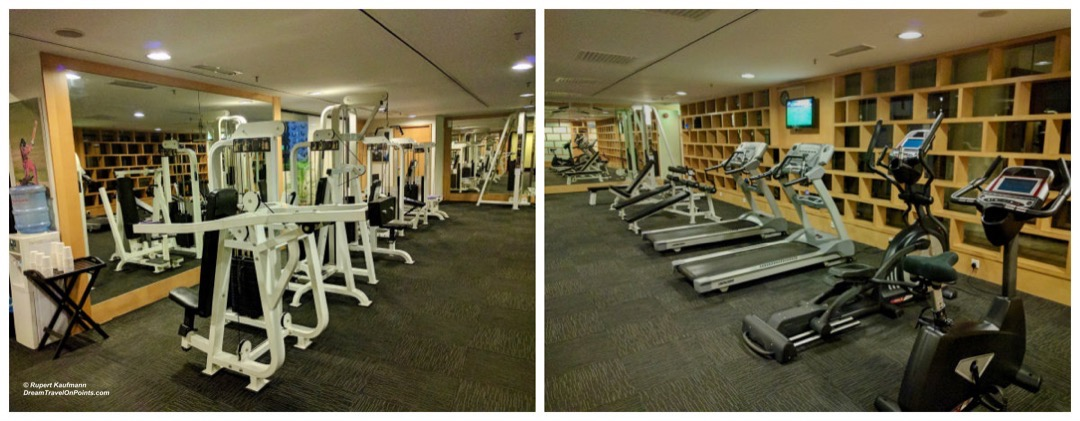 Novotel Kuala Lumpur City Center, gym with cardio and weight equipment