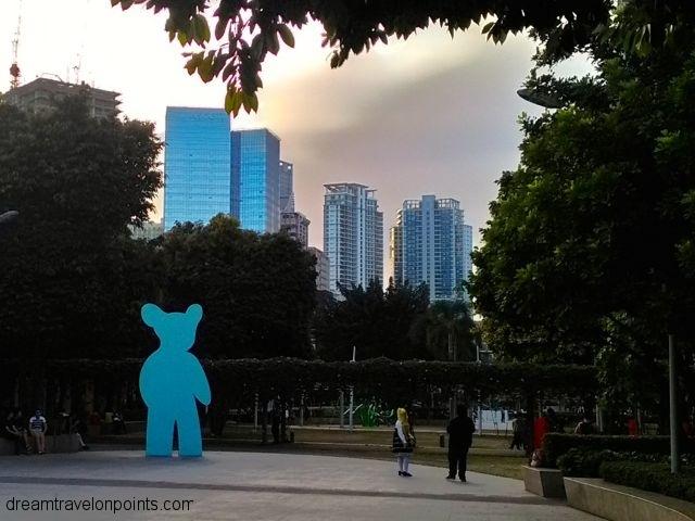 Skyline from Bonifacio High Street