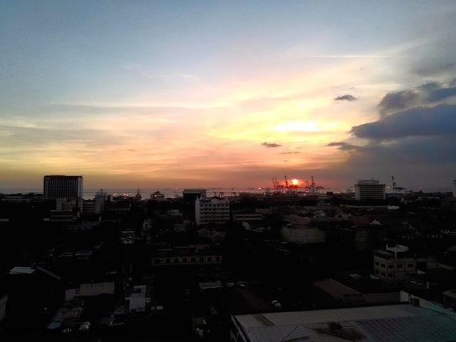 Sunset Manila Bay