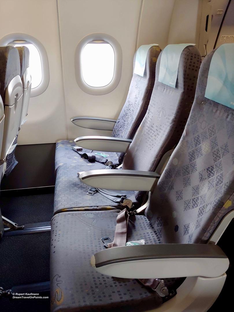 Review Eva Air Economy Class A Stepped Up Experience