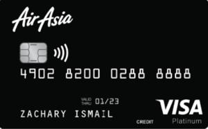 Card Review: Air Asia Platinum Visa card – great rewards & perks for