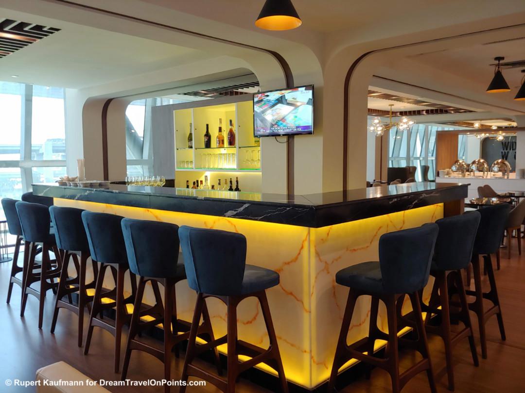 Review New Turkish Airlines Lounge At Bangkok Suvarnabumi